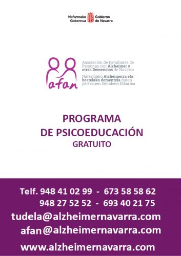 Acceso a folleto Programa de psicoeducación